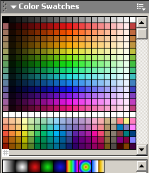 NTSC Safe Color Palette